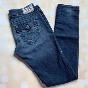 True religion skinny flap pockets